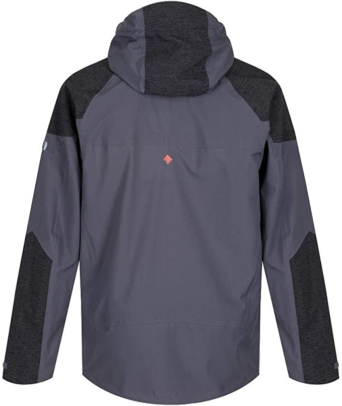 Regatta Men/'s Oklahoma IV Reflective Lightweight Waterproof Jacket Grey