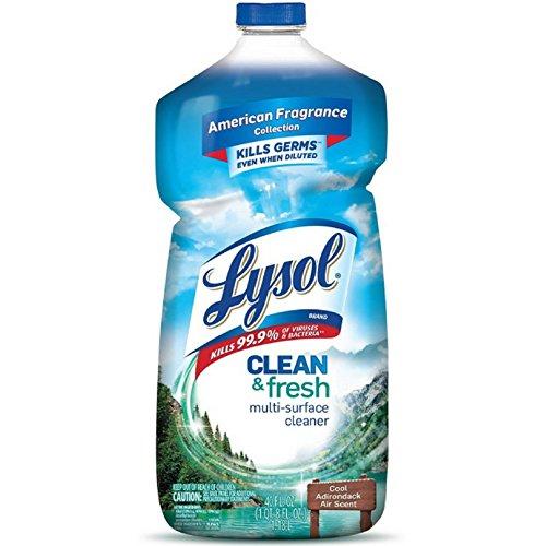 Lysol All-Purpose Liquid Cleaner Fresh Scent Bottle 40 Oz