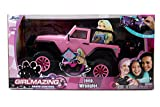 remote control big foot - Jada Toys GIRLMAZING Big Foot Jeep R/C Vehicle (1:16 Scale), Pink