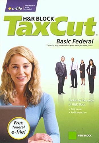 H&R Block TaxCut 2008 Basic Federal + e-file for sale  Delivered anywhere in Canada