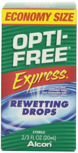 Opti-Free Express Rewetting Drops, 2/3 fl Ounce Bottle by Opti-Free
