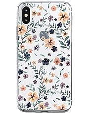 Oihxse Funda iPhone 11, Ultra Delgado Transparente TPU Silicona Case Suave Claro Elegante Creativa Patrón Bumper Carcasa Anti-Arañazos Anti-Choque Protección Caso Cover (A14)