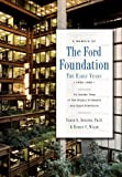 The Ford Foundation, Verne S. Atwater and Evelyn Walsh, 0533164273