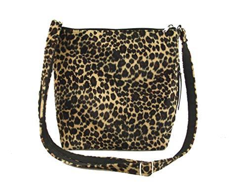 Mujer Para Al Hombro Jungle Leopardo Bolso M De Loni Sintético B6vq0Y
