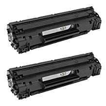 2 Pack The Red P ® Compatible Toner Cartridge Replacement for 83X CF283X / 137 (9435B001AA) High Yield for HP LaserJet Pro M201dw, M201n, MFP M125a, MFP M125nw, MFP M125rnw, MFP M127fn, MFP M127fw, MFP M225dn, MFP M225dw & Canon ImageClass LBP151dw MF212w MF216n MF217w MF227dw MF229dw MF232w MF236N MF244dw MF247dw MF249DW Printers