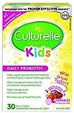 Culturelle Kids Chewables Probiotic Supplement, 30 Count