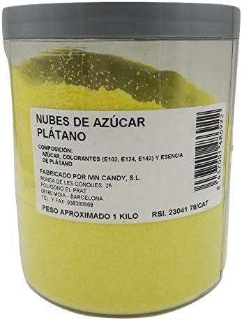 Algodón Nubes de Azúcar Plátano 1 Kg: Amazon.es: Instrumentos ...