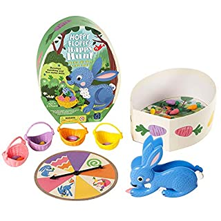 Educational Insights Hoppy Floppy's Happy Hunt | Matching & Fine Motor Skills Preschool Board Game | 2-4 Players | for Ages 3+