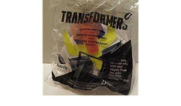 Amazon.com: Transformers Strong Arm Mask #6 McDonalds 2017: Toys & Games