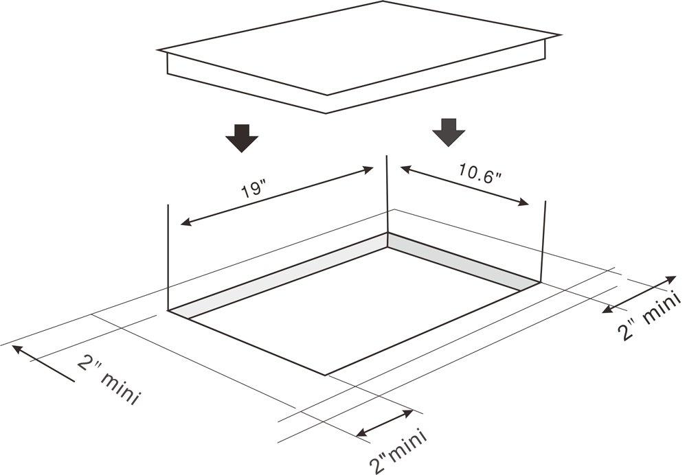Amazon.com: K&H INDV-3102 Domino 2 - Quemador de inducción ...