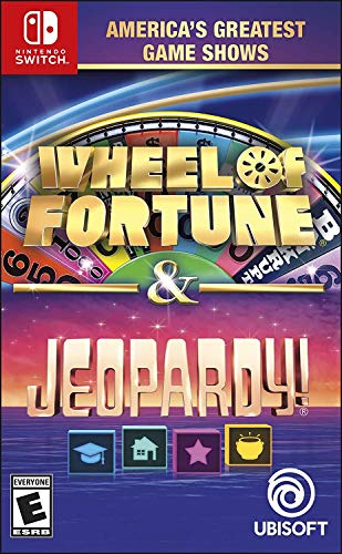 Americas Greatest Game Shows: Wheel of Fortune & Jeopardy! - Nintendo Switch Standard Edition