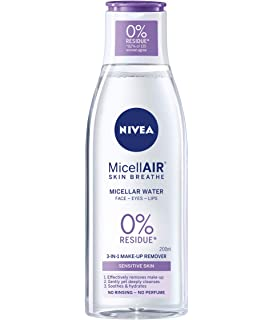 NIVEA Daily Essentials Sensitive 3-in-1 Micellar Cleansing Water - 200 ml Pack