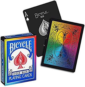 jeux de carte bicycle Jeu de cartes Bicycle Rainbow black: Amazon.fr: Jeux et Jouets