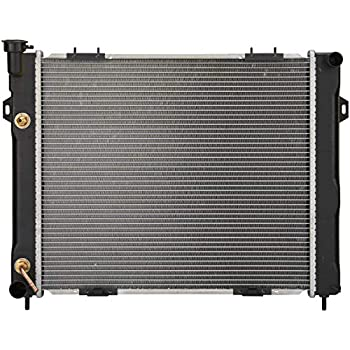 Spectra Premium CU1396 Complete Radiator for Jeep Grand Cherokee
