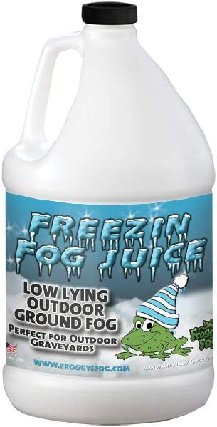 B001DJZNHW Froggys Fog - Freezin Fog- Outdoor Low Lying Ground Fog Juice Machine Fluid - 1 Gallon 51-8WYcAweL