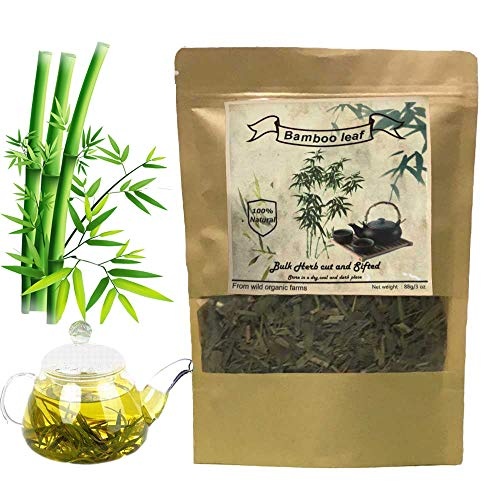 - Bamboo Tea, Organic Bamboo Leaf Tea ,Slimming tea, diet tea rich in Organic Silica ,good for Hair, Skin & Nails Growing (3oz/88g )