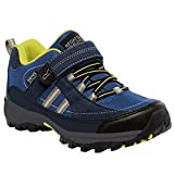 Regatta Great Outdoors Childrens/Kids Trailspace II Low Hiking Shoes (4 US) (Blue/Neon Spring)