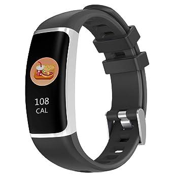 Boomder Fitness Tracker, Impermeable Tracker Actividad Reloj ...