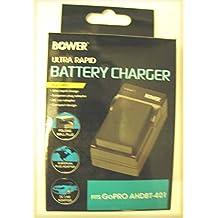 BOWER AHDBT-401 Charger for GoPro HERO4 CHDHY-401 CHDHX-401 CHDBX-401 CHDBY-401