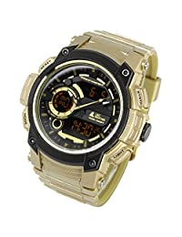 [LAD WEATHER] Triple time/100m Water Resistance/Military/Sports/Watch