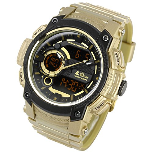 Field Watch Expedition Military ([LAD Weather] Triple time/100m Water Resistance/Military/Sports/Watch)