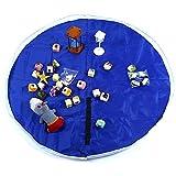 Best blu Home Organizers - Kids Toys Storage Bag,xhforever foldable Drawstring Beam Port Review