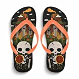 Chad Hope Men's Soft Comfortable Rubber Flip Flop Thong Sandal