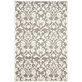 Safavieh Amherst Collection AMT424R Dark Grey and Beige Indoor/Outdoor Area Rug (6′ x 9′) Review