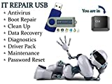 IT Computer Repair - Antivirus Recovery Password Reset PC Repair Drivers Bootable Boot USB Flash Thumb Drive