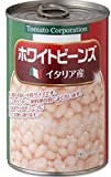 Tomato Corporation White Beans (Italy production) EO can 400gX24 pieces