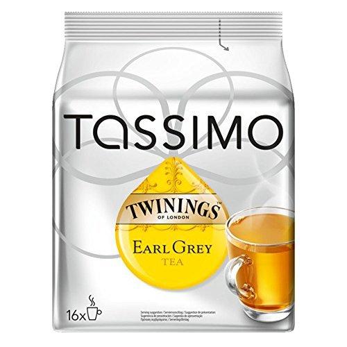 Price comparison product image Bosch Tassimo 'Twinings Earl Grey Tea' 16 T Disc Coffee Machine Capsules