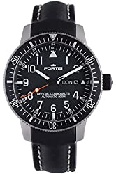 Fortis 647.27.11 L.01 B-42 Official Cosmonauts Day/Date Titanium Mens Automatic Watch