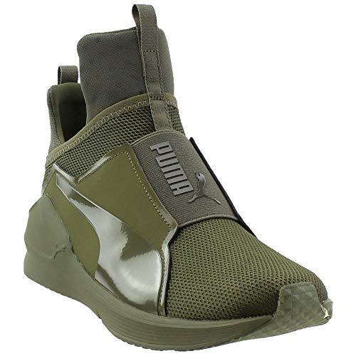 PUMA Mens Fierce Core Mono Casual Sneakers, Green, 10 (Puma Sneakers Green)