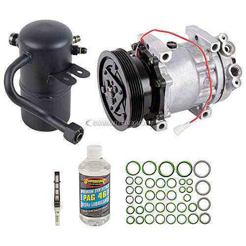AC Compressor w/A/C Repair Kit For Mazda 626 1998 1999 2000 2001 2002 - BuyAutoParts 60-80266RK New (Compressor Mazda A/c 626)