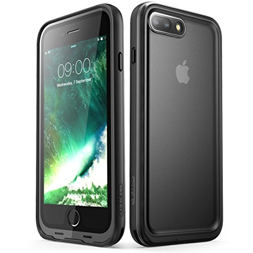 iPhone 8 Plus Case, i-Blason [Aegis] Waterproof Full-body Rugged Case with Built-in Screen Protector for Apple iPhone 7 Plus 2016/iPhone 8 Plus 2017 Release (Black) by i-Blason (Image #1)