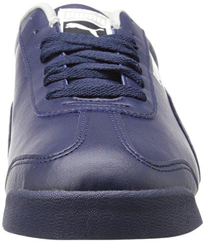 Puma Uomo Roma Basic Sneaker Moda Grigio-viola