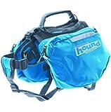 Outward Hound Kyjen  22013 Quick Release Backpack Saddlebag Style Dog Backpack, Extra Large, Blue
