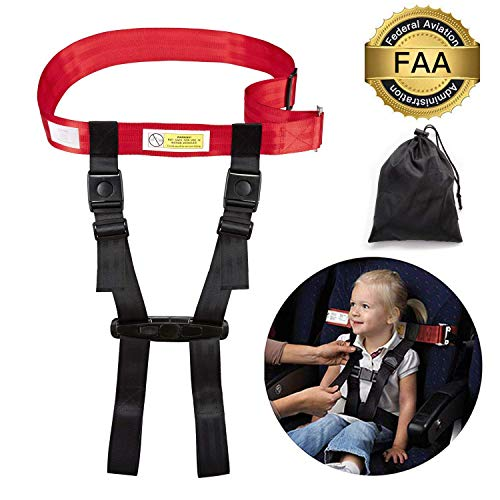 Toddler Airplane Travel Safety Harness FAA Approved, Cares Harness Restraint System Child Airplane Safety Seat Belt for Kids Baby Use