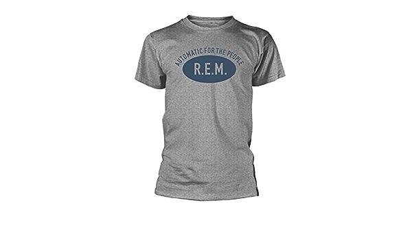 REM Automatic for The People REM Rock Oficial Camiseta para Hombre