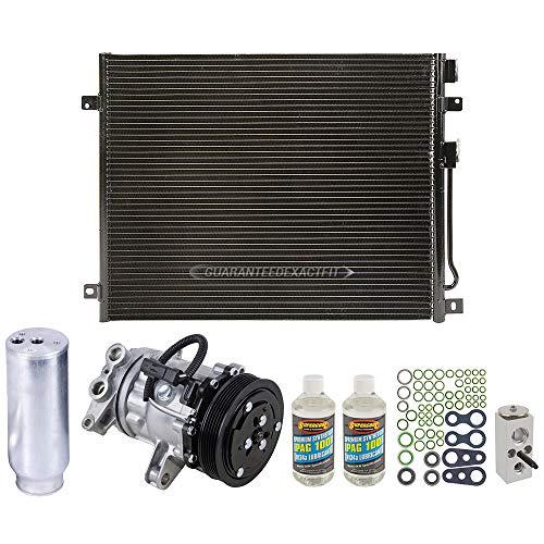 A/C Kit w/AC Compressor Condenser & Drier For Dodge Durango 2002 2003 - BuyAutoParts 60-82446CK New