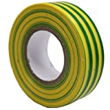 All Trade Direct 5X Earth Electrical PVC Insulation Tape 19Mm X 20M Professional British Standard by All Trade Direct