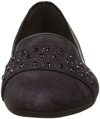 Gabor Donna dark Lila 32 613 violet Foncé Ballerine 39 qavgx4wzq