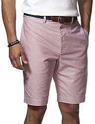 Chaps By Ralph Lauren Men's Big & Tall Classic-Fit Oxford Shorts (52B, Riviera Blue)