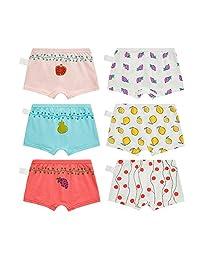 Skhls Baby Girls Cute Cartoon Underwear Soft Cotton Panties Set