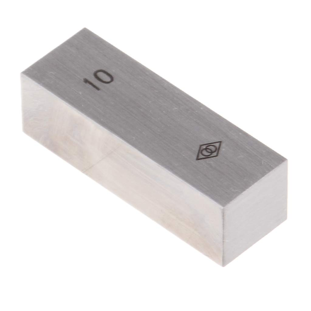 as described 30mm Baosity Steel Rectangular Micrometer Inspection Gage Block Set Optical Parallel with Identification Number 10-100mm