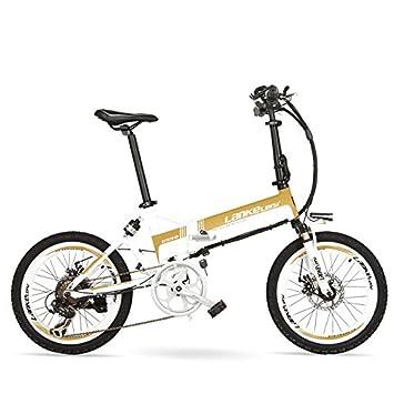 Bicicleta eléctrica potente grande G550, bicicleta plegable de alta calidad de 20 pulgadas, bicicleta