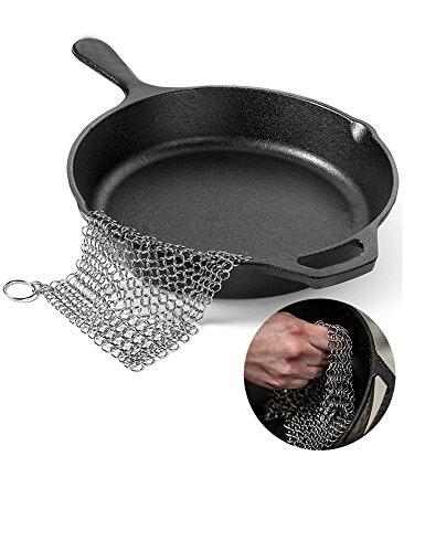clean cast iron pan - 7