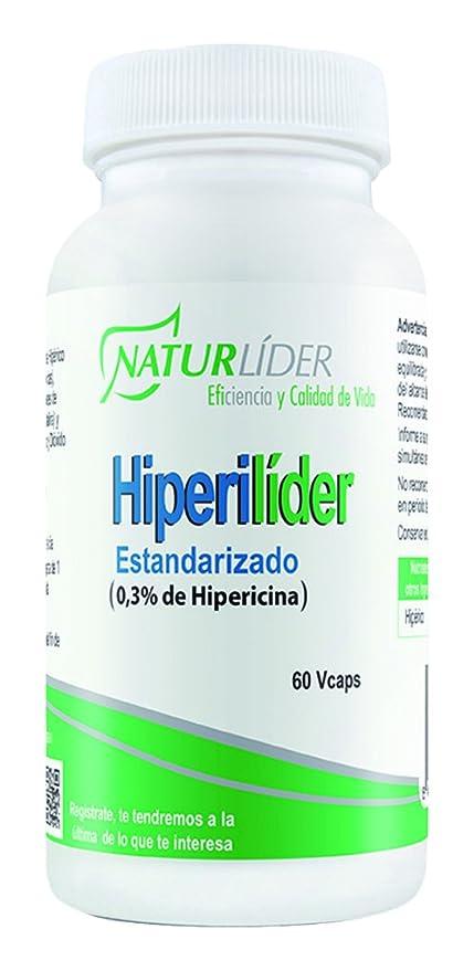 Naturlíder Hiperilíder Suplementos de Origen Vegetal para Sistema Nervioso Central - 60 Cápsulas