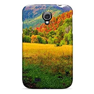 (XeXpAGW6847FSVUZ)durable Protection Case Cover For Galaxy S4(provo Canyon Utah In Autumn)