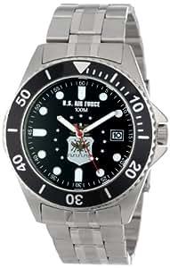"U.S. Air Force Caballero 0825HAF08 ""Honor"" Stainless Steel Reloj"